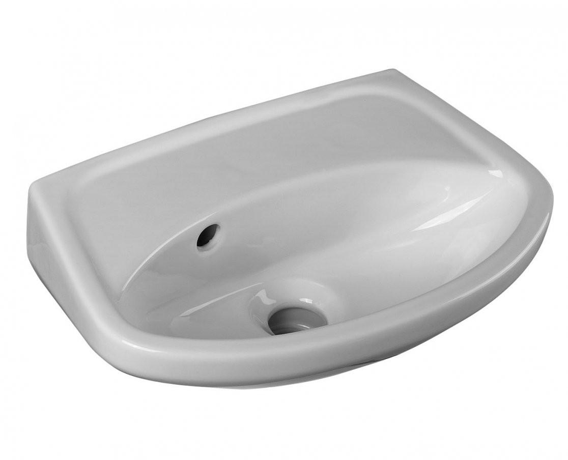 Cornat Handwaschbecken Ronda  395 Cm  Ohne Hahnloch  Waschtische von Kleines Waschbecken Ohne Hahnloch Photo