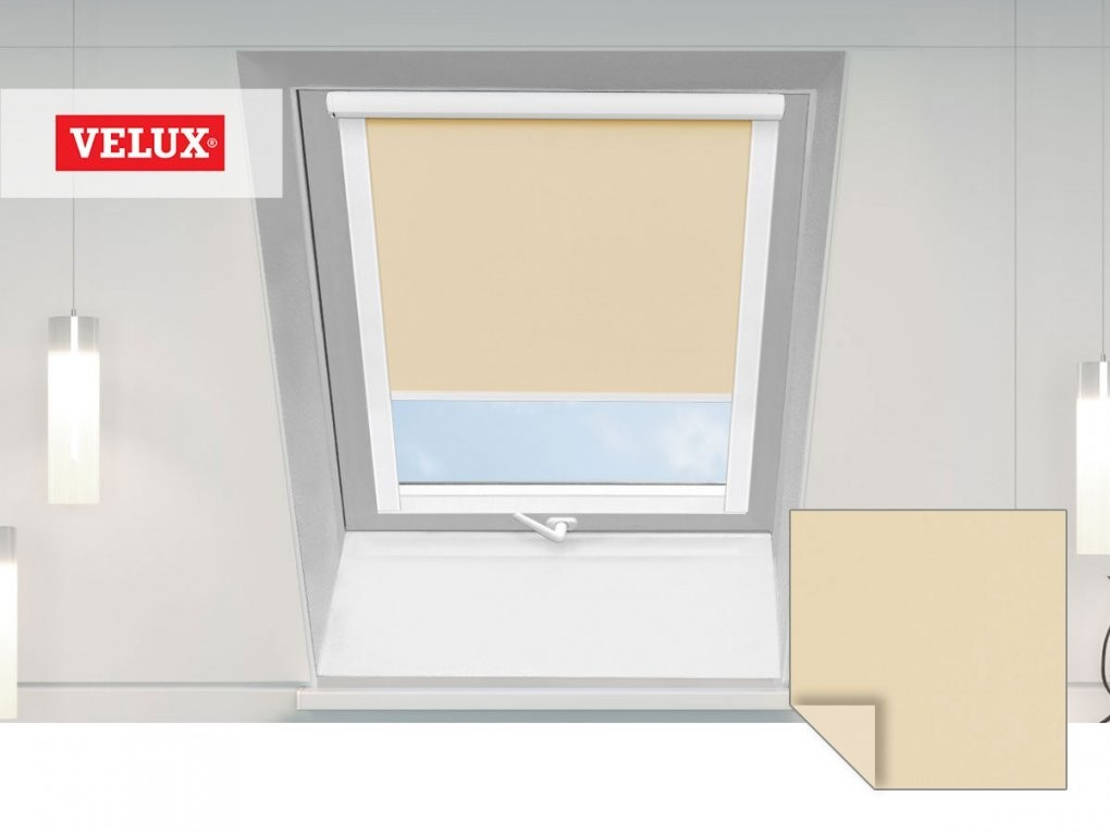 Dachfensterrollos  Für Unterschiedliche Dachfenstertypen von Rollos Velux Fenster Bild