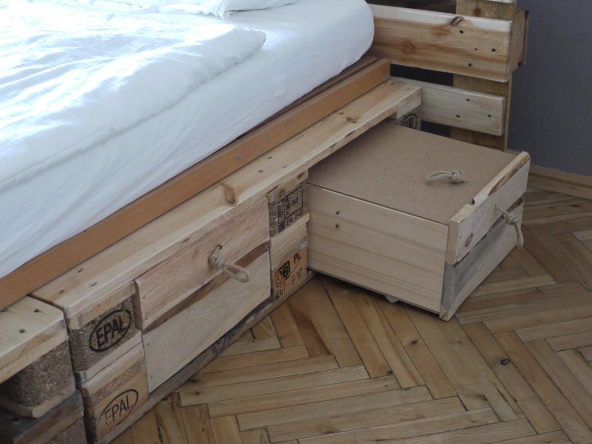 Das Diy Schlafzimmer  Designfeverblog von Bett Mit Schubladen Selber Bauen Bild