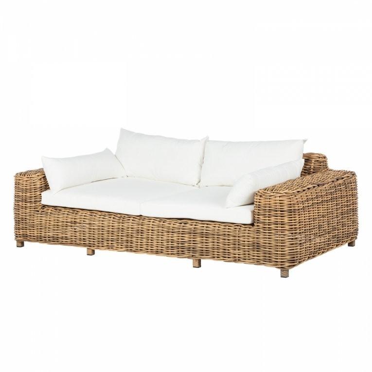 Deinen Garten Günstig Und Schick Mit Loungemöbeln Von Maison Belfort von Polyrattan Sofa 2 Sitzer Bild