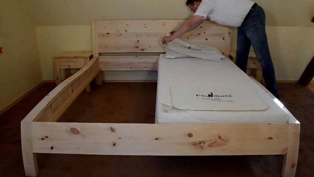 Dekorationen Verwunderlich Bett Selber Bauen Kosten Massivholz Bett von Bett Selber Bauen Anleitung 180X200 Bild