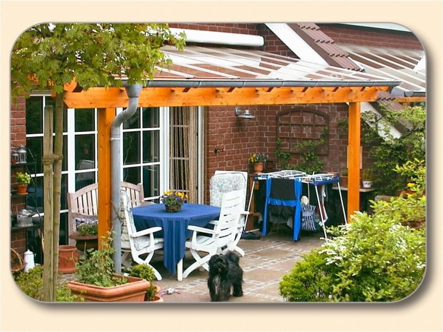 Dekorationen Verwunderlich Terrassenüberdachung Holz Glas Selber von Terrassenüberdachung Aus Holz Selber Bauen Photo