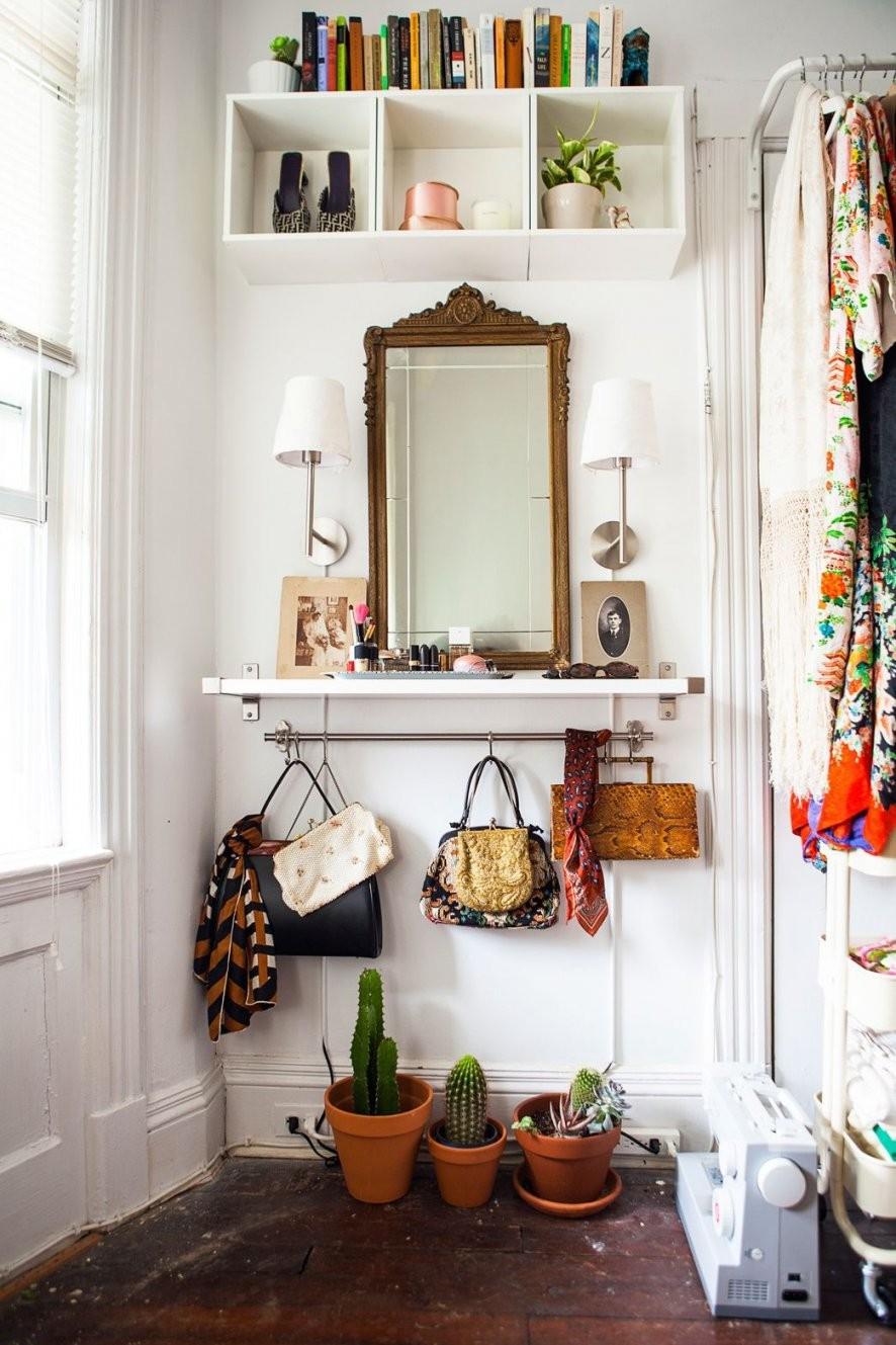 Der Kleine Eingangsbereich – 10 Kluge Einrichtungsideen  Freshouse von Einrichtung Für Kleine Räume Photo