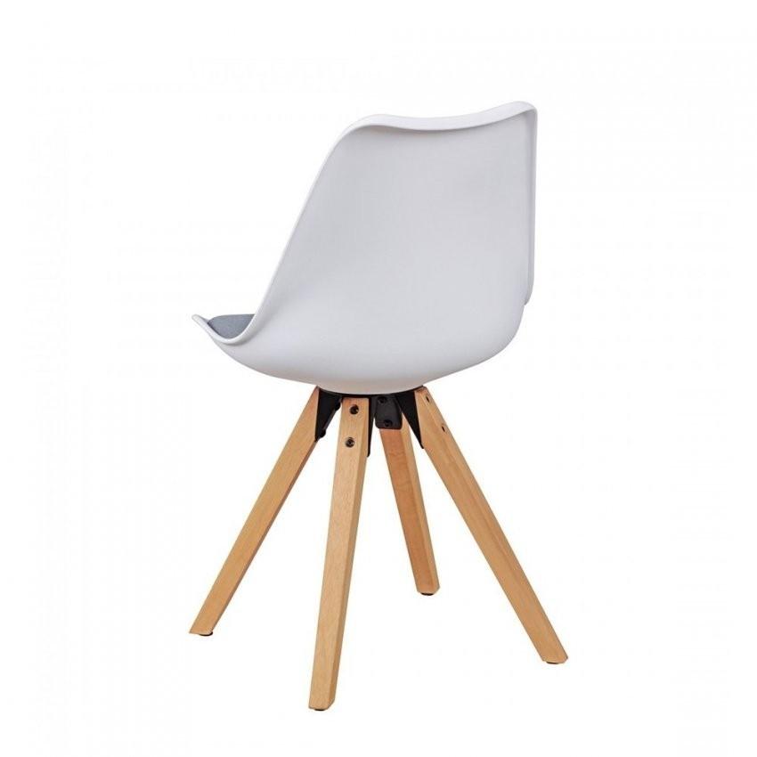 Design Stuhl Mit Schalensitz 2Er Set Ilunas Beliebt Bauen Von Stühle von Stühle Skandinavischer Stil Bild