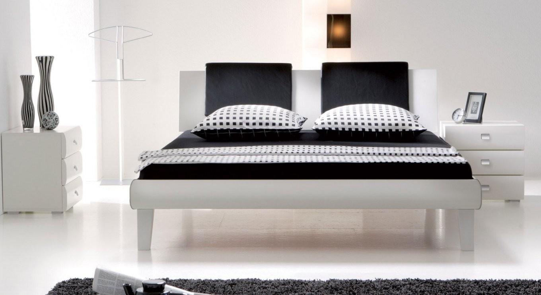 Designerbett In Zb 140X200 Cm Auf Rechnung  Arona von Polsterbett Weiß 140X200 Bild