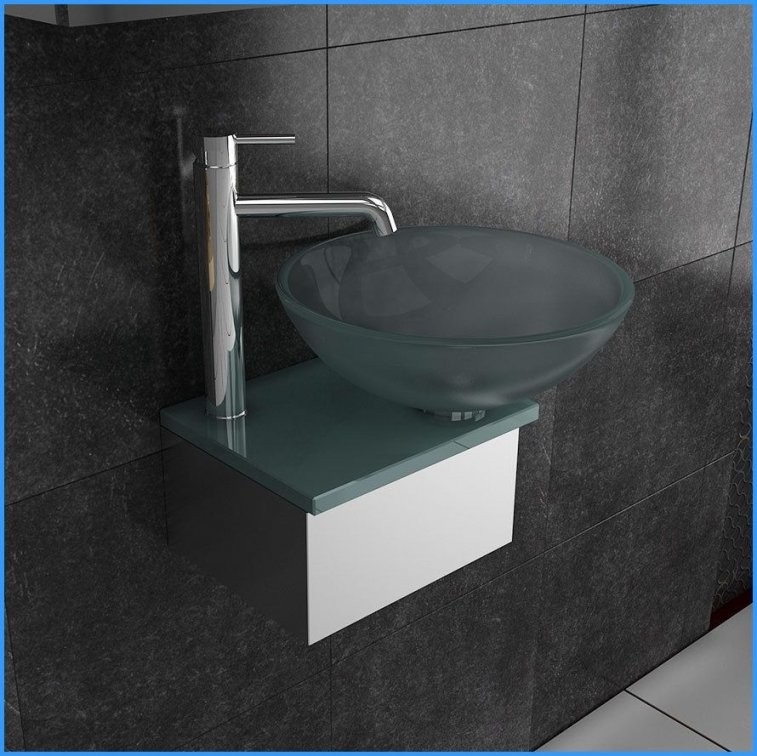 Details Zu Alpenberger Waschbecken Waschtisch Für Gäste Wc Glas von Waschbecken Gäste Wc Klein Photo