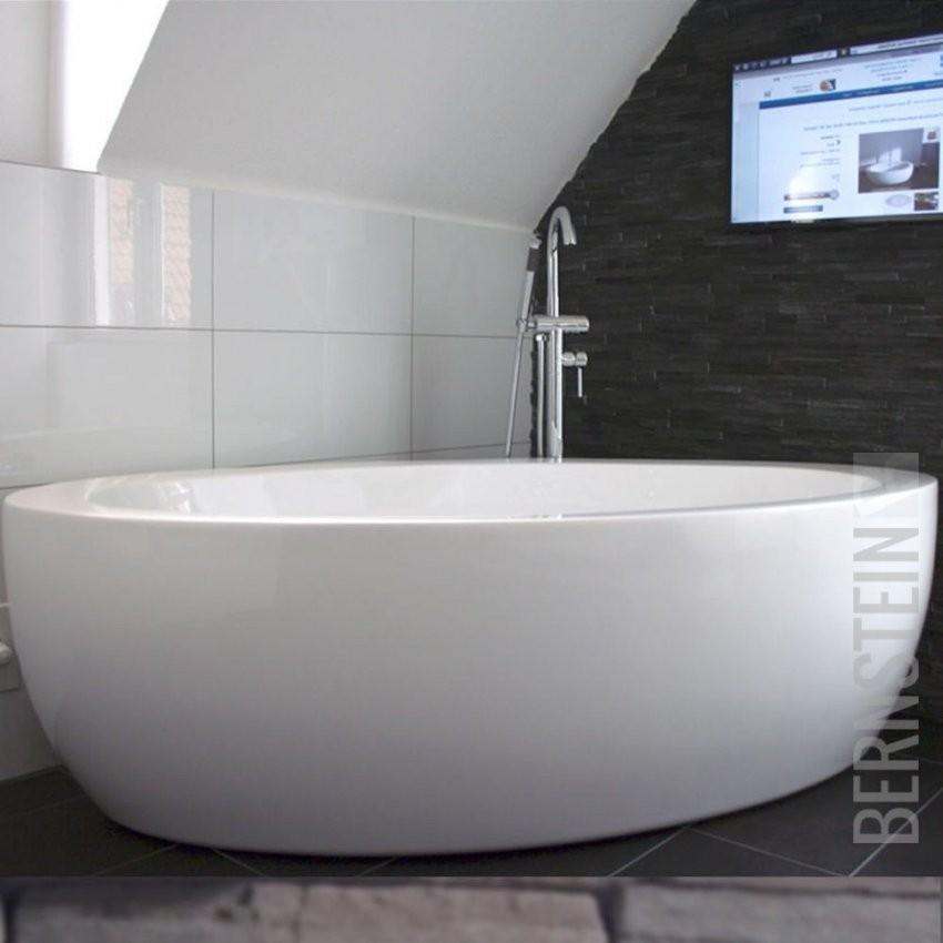 Details Zu Bernstein Design Badewanne Freistehende Wanne Modena von Armatur Für Freistehende Badewanne Bild