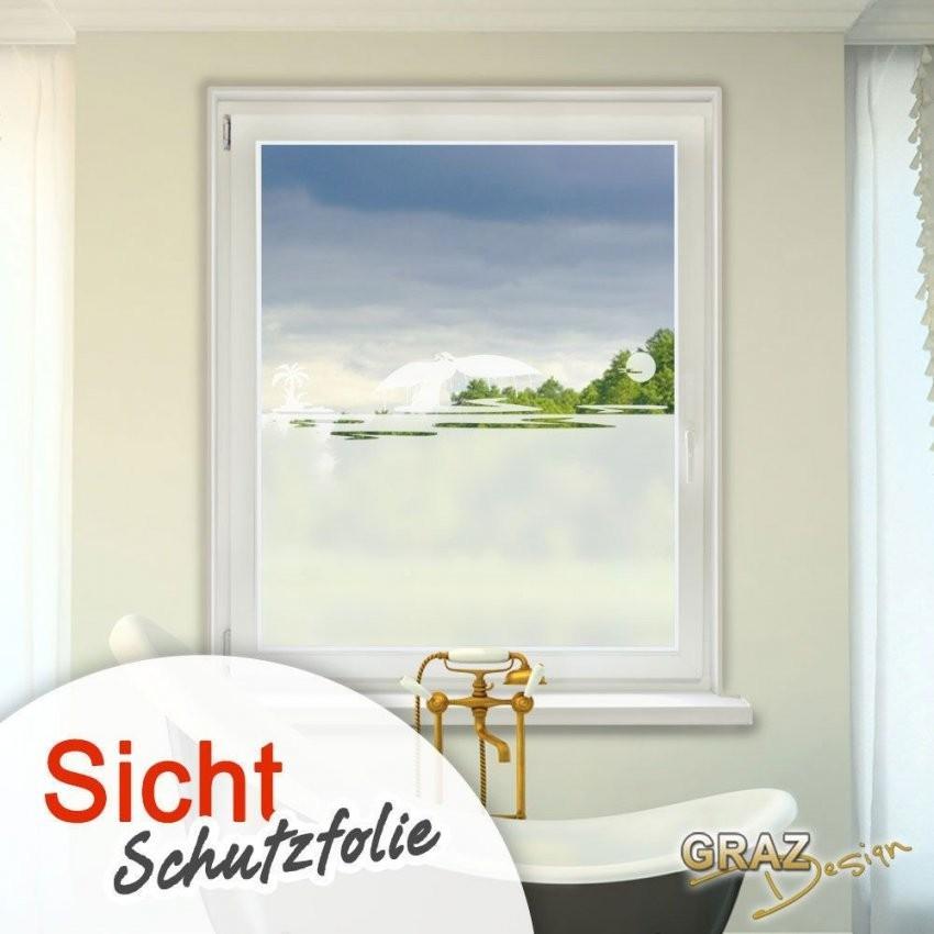 Details Zu Fensterdekor Milchglasfolie Sichtschutz Folie Badezimmer von Fensterfolie Sichtschutz Bad Photo