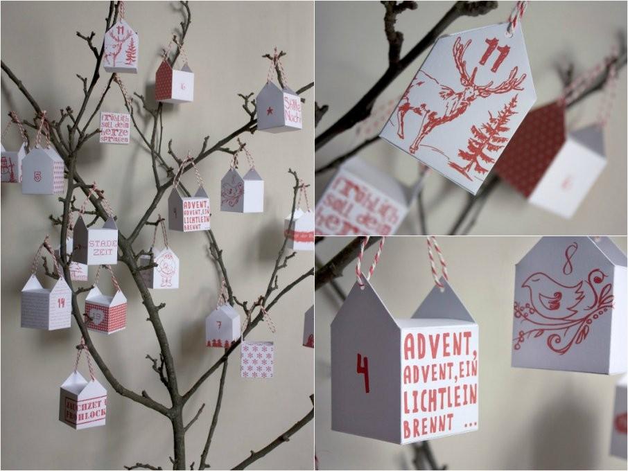 Diy Adventskalender Die 10 Schönsten Ideen  Diy Inspirationen In von Adventskalender Selber Machen Kinder Photo