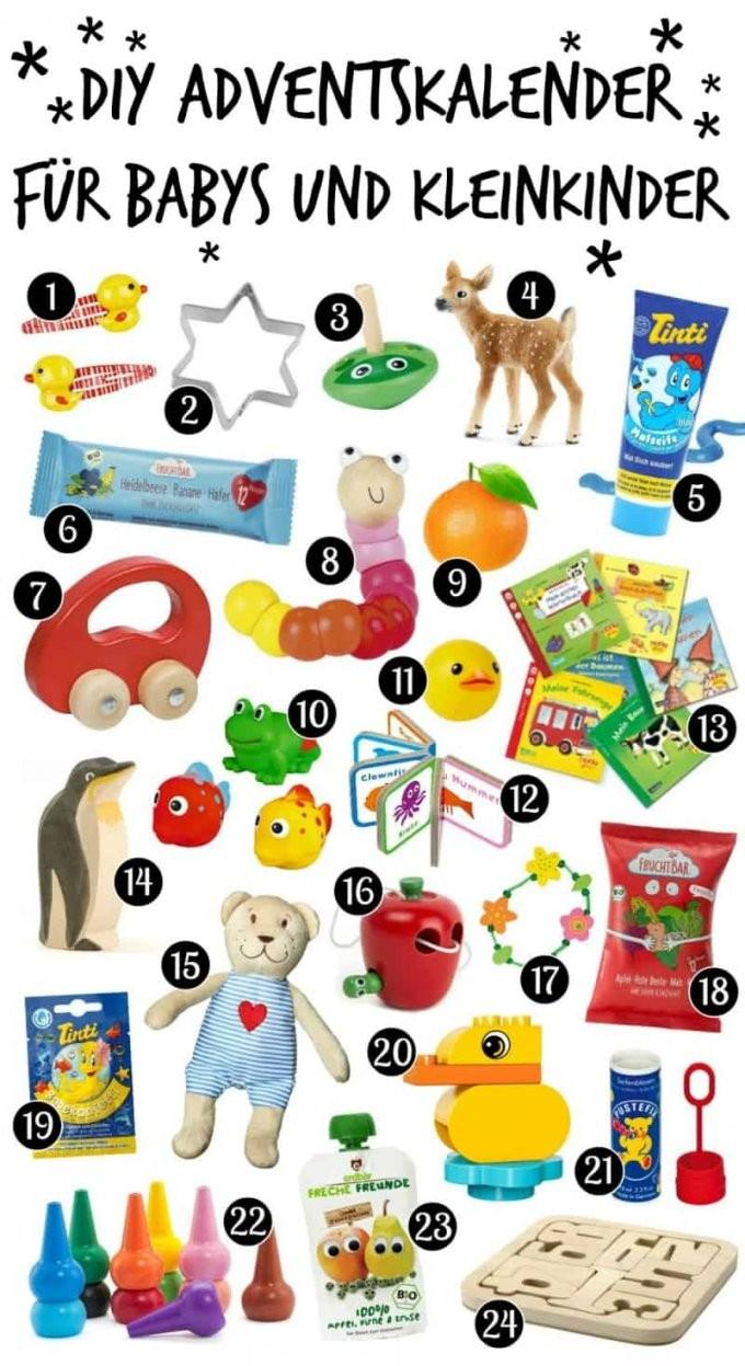 Diy Adventskalender Für Babys Und Kleinkinder Selber Machen von Adventskalender Selber Machen Inhalt Photo