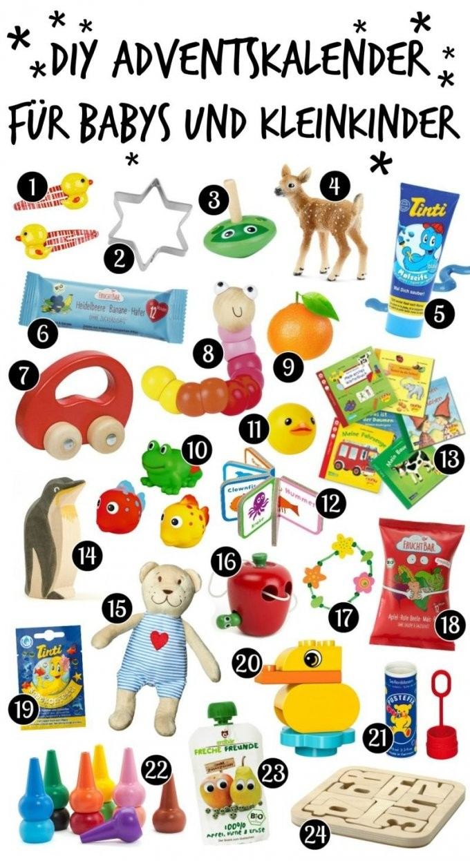 Diy Adventskalender Für Babys Und Kleinkinder Selber Machen von Adventskalender Selber Machen Kinder Bild
