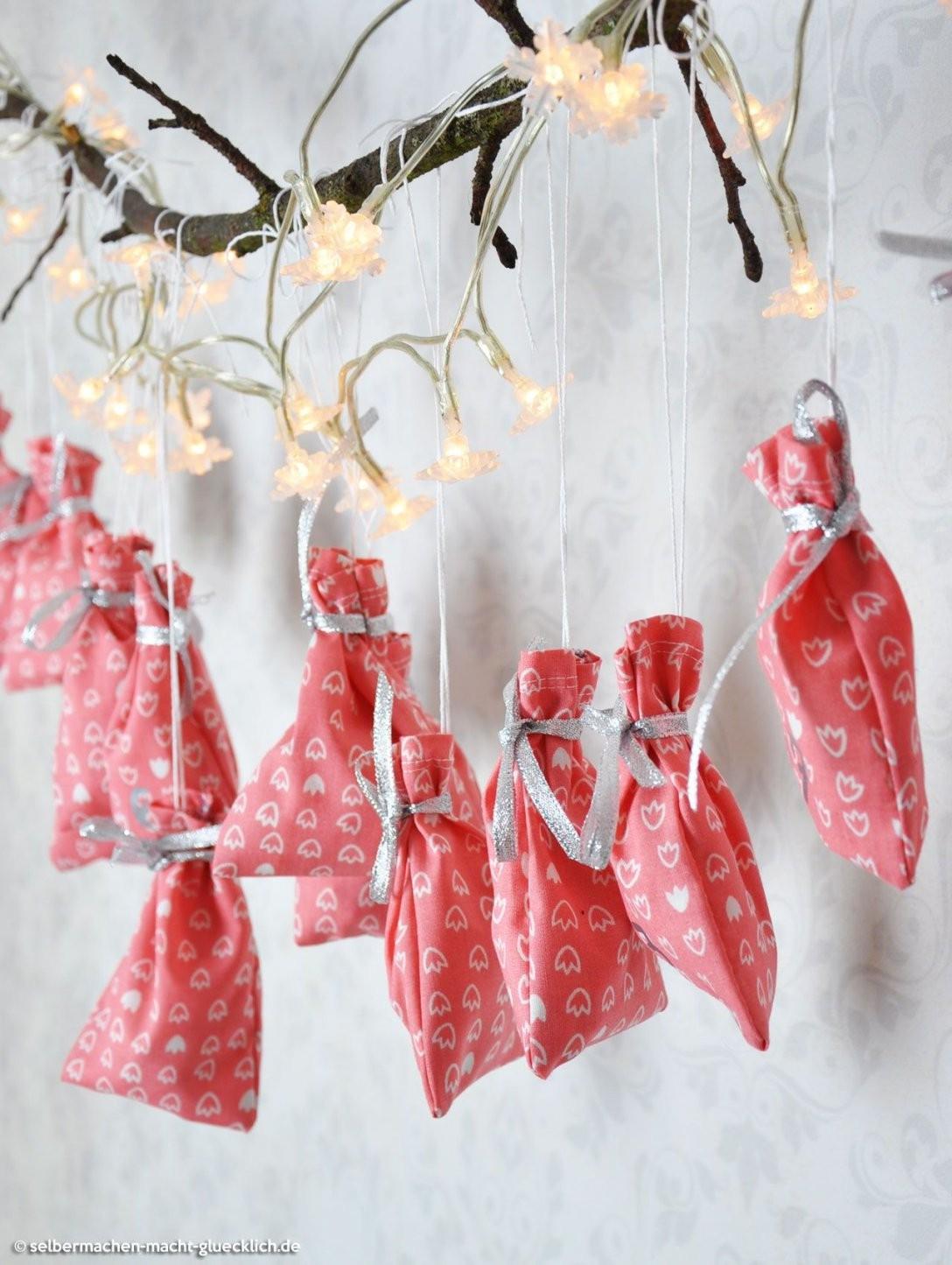 Diy Adventskalender Selbermachen – Selbermachen Macht Glücklich von Adventskalender Zum Selber Machen Bild