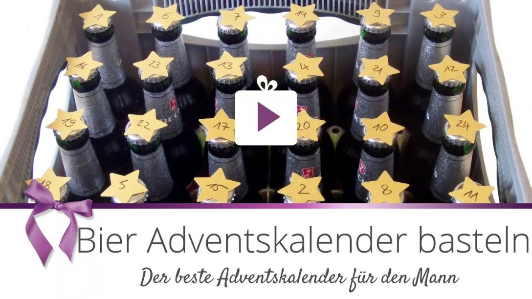 Diy] Bier Adventskalender Basteln  Danato  Youtube von Bier Adventskalender Selber Machen Bild
