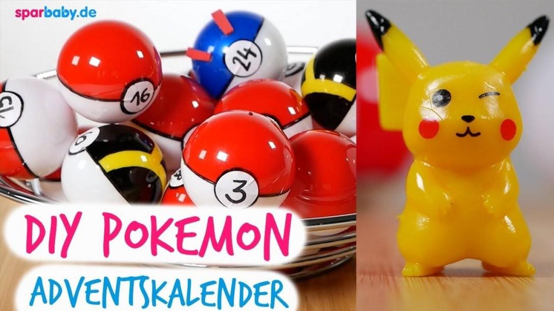 Diy Pokemon Adventskalender Mit Pokeball Selber Machen  Anleitung von Baby Adventskalender Selber Machen Photo
