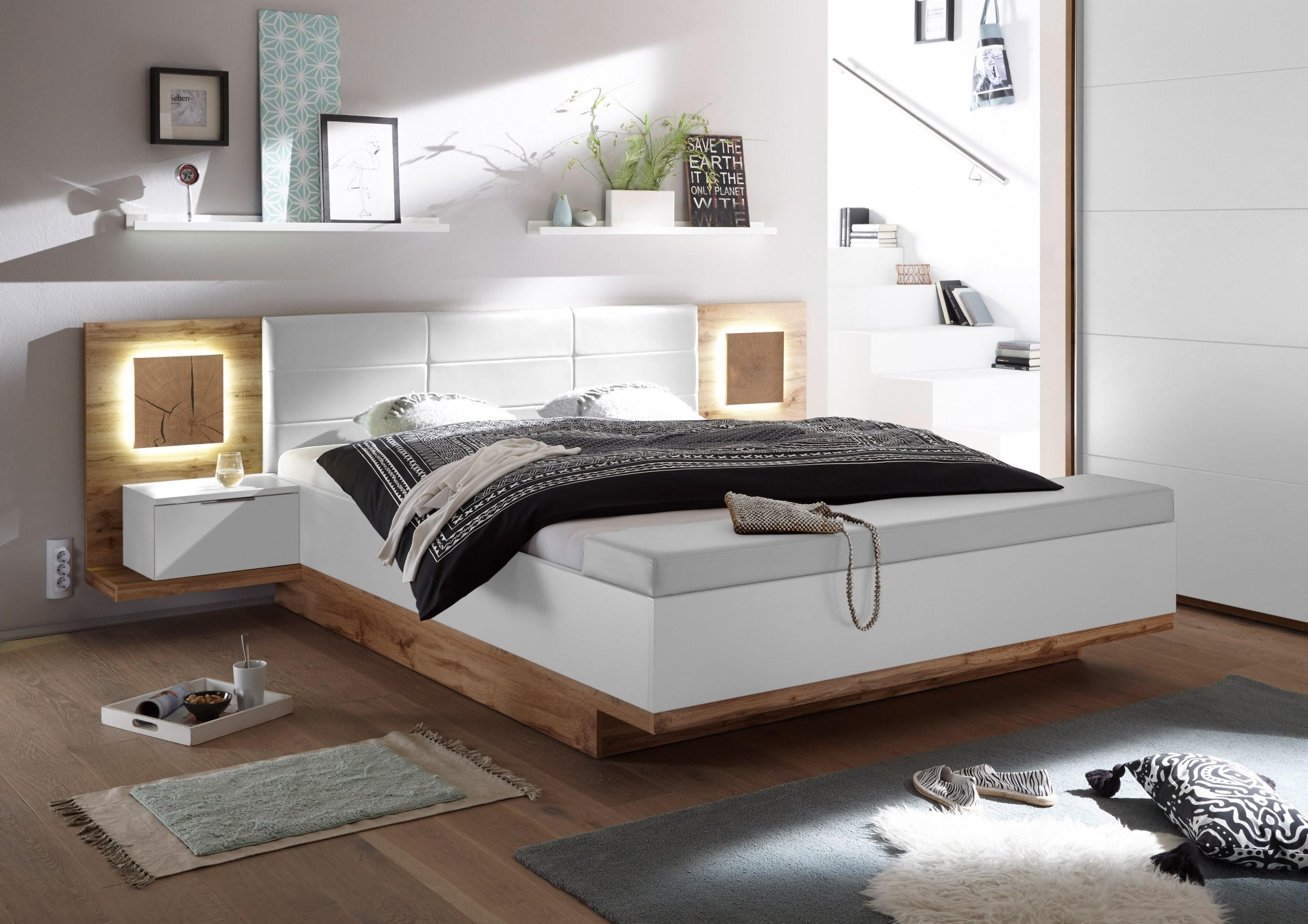 Doppelbett Nachtkommoden Capri Xl Bett Ehebett Schlafzimmer 180X200 von Bett Günstig 180X200 Photo