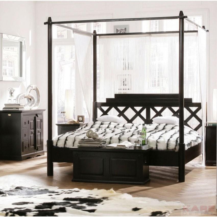 Doppelbett Schlafzimmer Bett Himmelbett 160X200 Kolonialstil Neu von Kolonial Bett 160X200 Photo