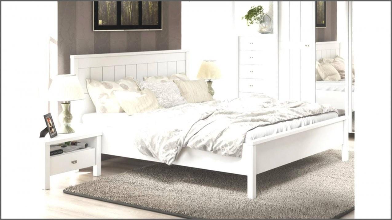 Doppelbett Weia Holz Rheumri Weis 180X200 Weiss 200X200 Von Bett von Bett Landhausstil 180X200 Bild