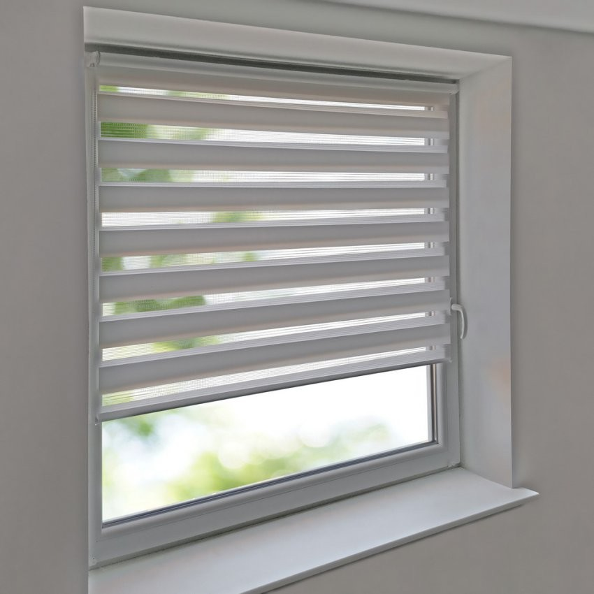 Duorollos Doppelrollos Premium Klemmfix Ohne Bohren Fenster Tür von Rollos Für Fenster Ohne Bohren Photo