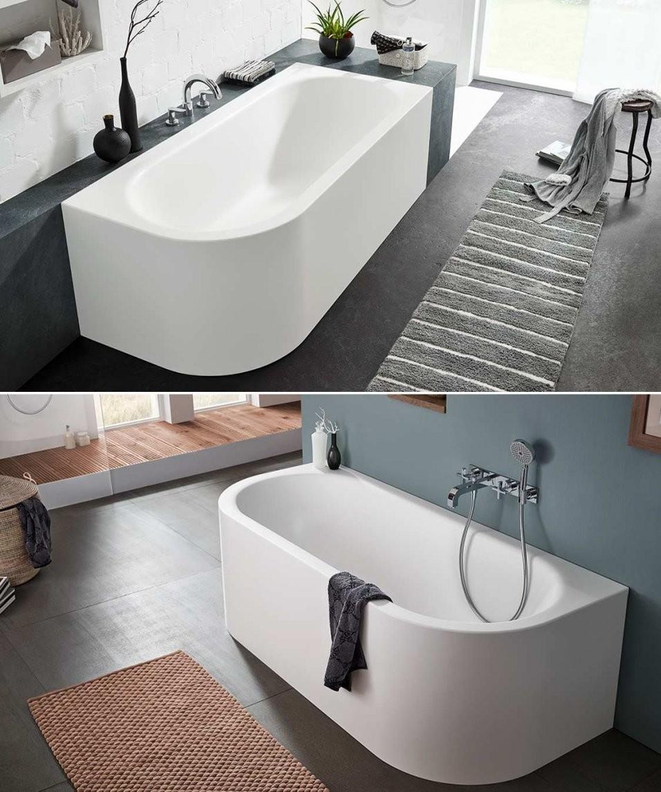 ③ Ideen Für Freistehende Badewanne An Der Wand Von Mauersberger von Badewanne Halb Freistehend Photo