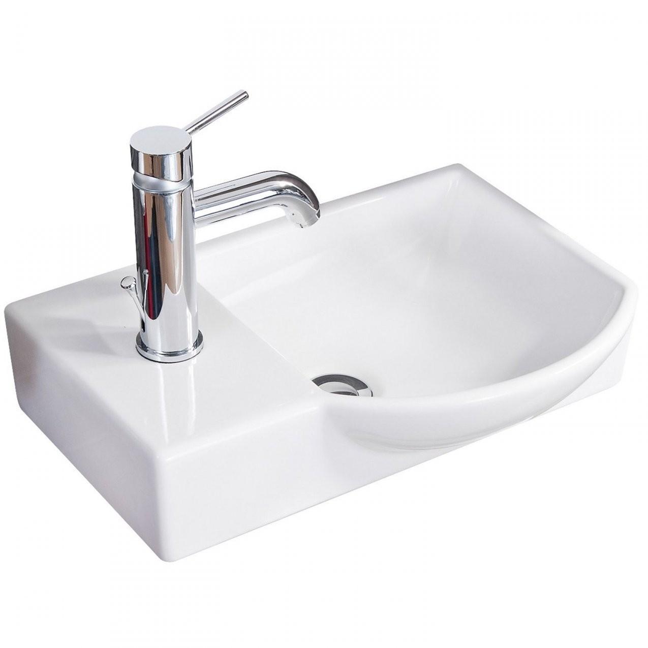 Eckig Waschbecken Online Kaufen Bei Obi von Waschbecken Klein Eckig Bild