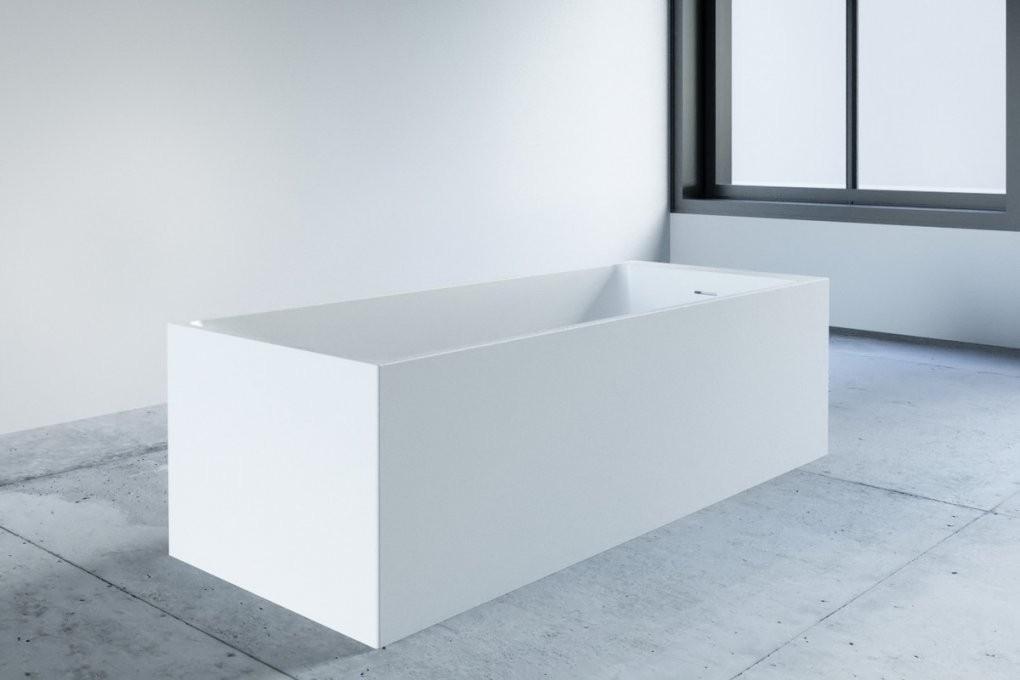 Eckige Badewanne Freistehend  One Bath von Freistehende Badewanne Eckig Bild