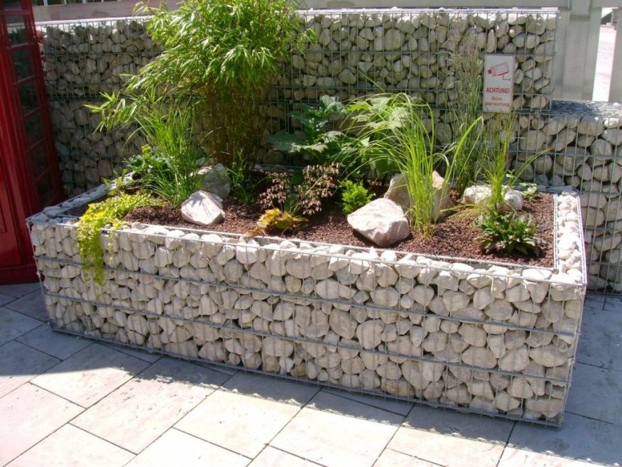Ehrfurcht Gebietend Große Steine Für Garten Preise Gabionen Hochbeet von Große Steine Garten Photo