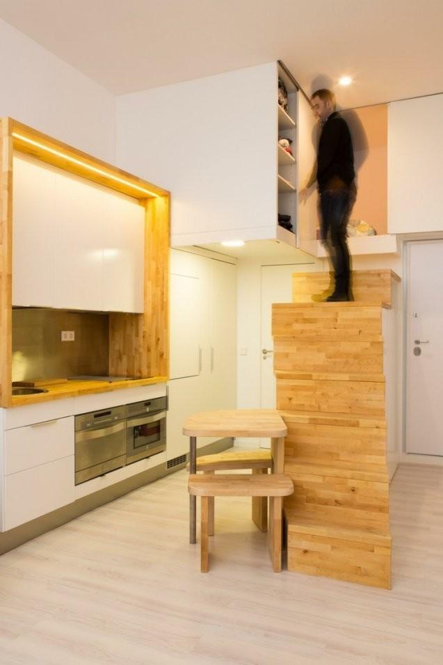 Einrichtungsideen Für Kleine Räume  11 Wohnungen Als Inspiration von Einrichtung Für Kleine Räume Photo