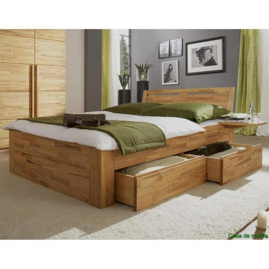 Einzigartig Bett Massivholz 160X200 Vollholz Schubladenbett von Bett Massivholz 160X200 Photo