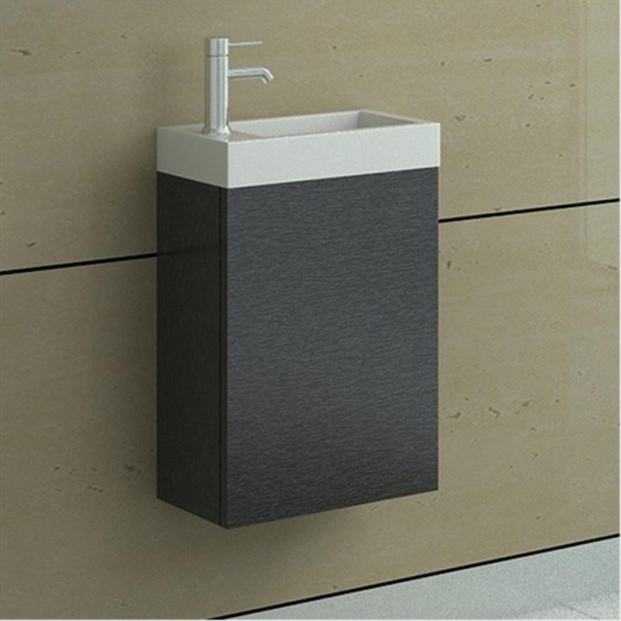 Elegantes Kleines Waschbecken Mit Unterschrank Waschtisch Mit von Waschbecken Mit Unterschrank Klein Photo