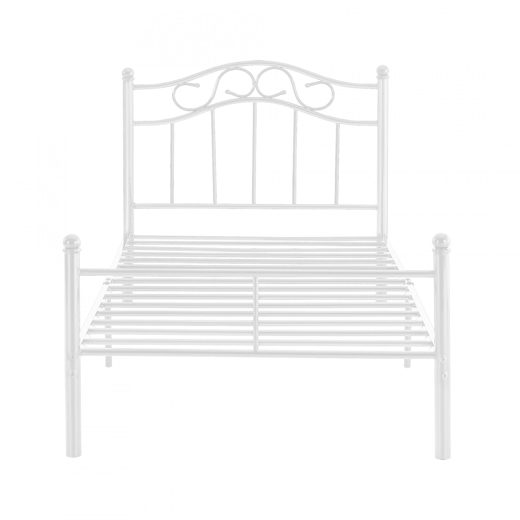 Encasa]® Metallbett 90120140180200X200 Bett Bettgestell von Bett 120X200 Metall Photo