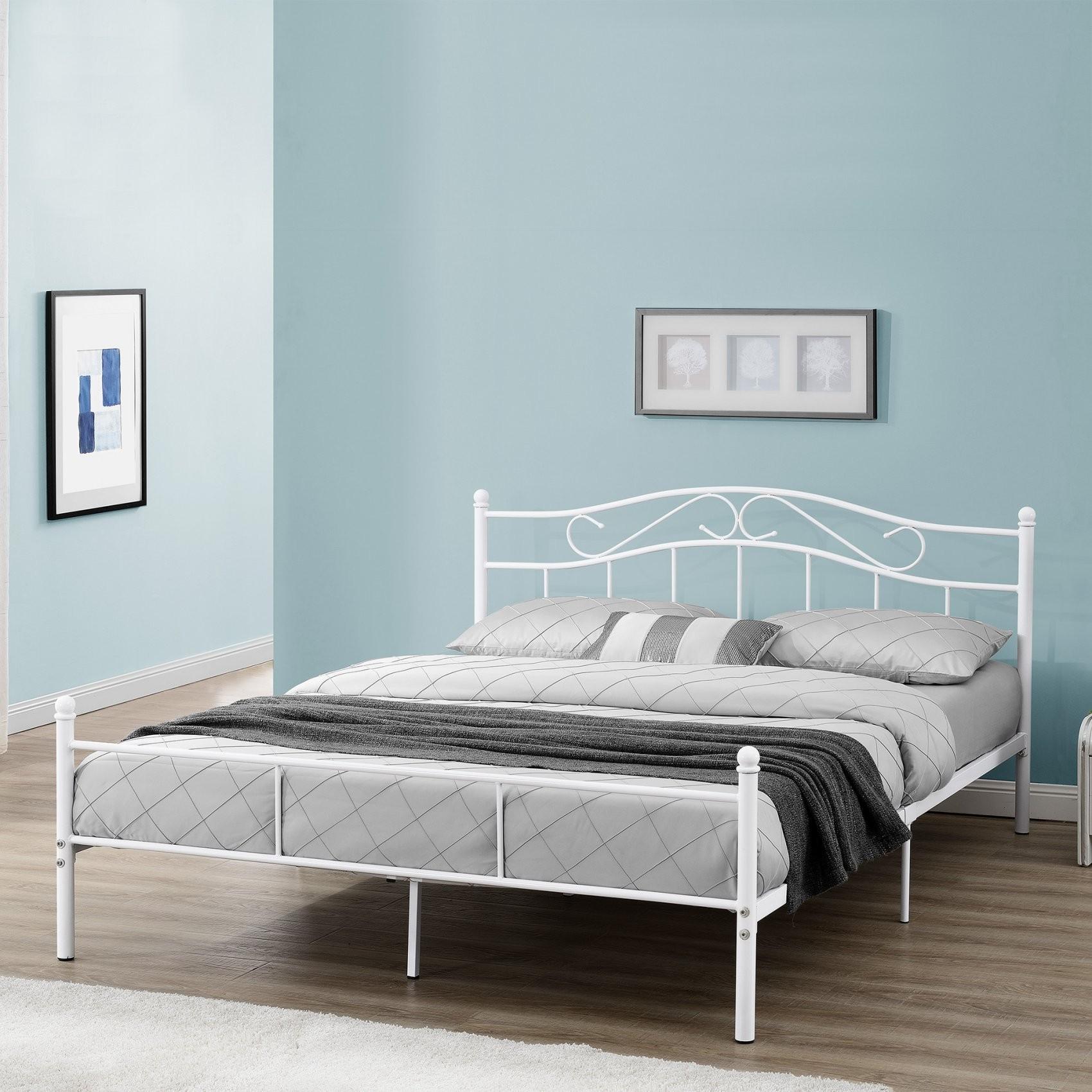 Encasa]® Metallbett 90120140180200X200 Bett Bettgestell von Bettgestell Metall 140X200 Bild