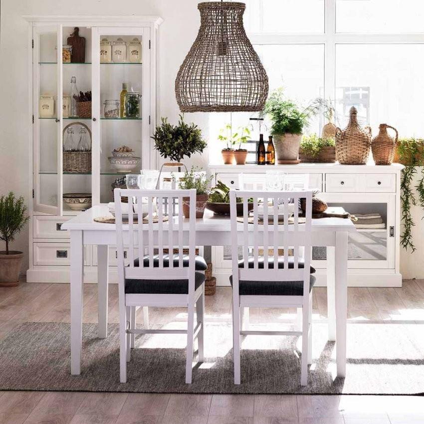 Esstisch Mit Stühlen Cusira In Weiß  Pharao24 von Esstisch Stühle Skandinavisch Bild