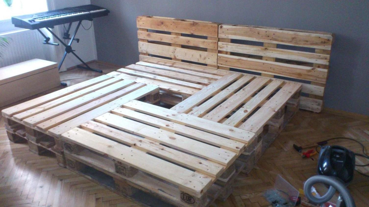 Europaletten Bett Kaufen Inspirierend Bett Selber Bauen Paletten von Paletten Bett 200X200 Photo