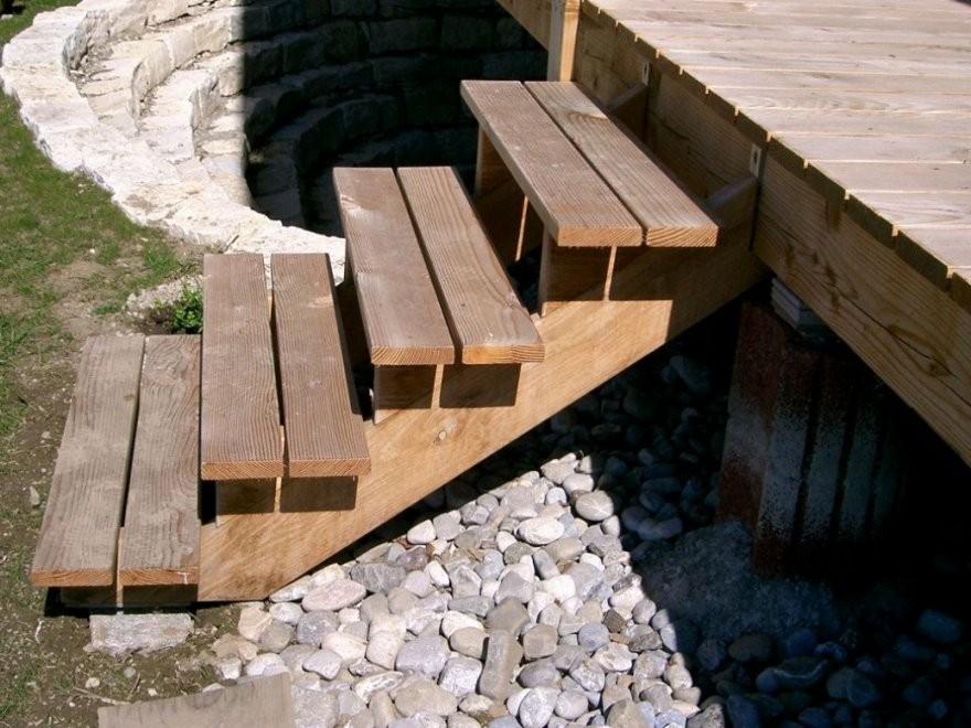 Fabelhafte Terrasse Treppe Selber Bauen Terrasse Bauanleitung Schn von Terrasse Treppe Selber Bauen Bild