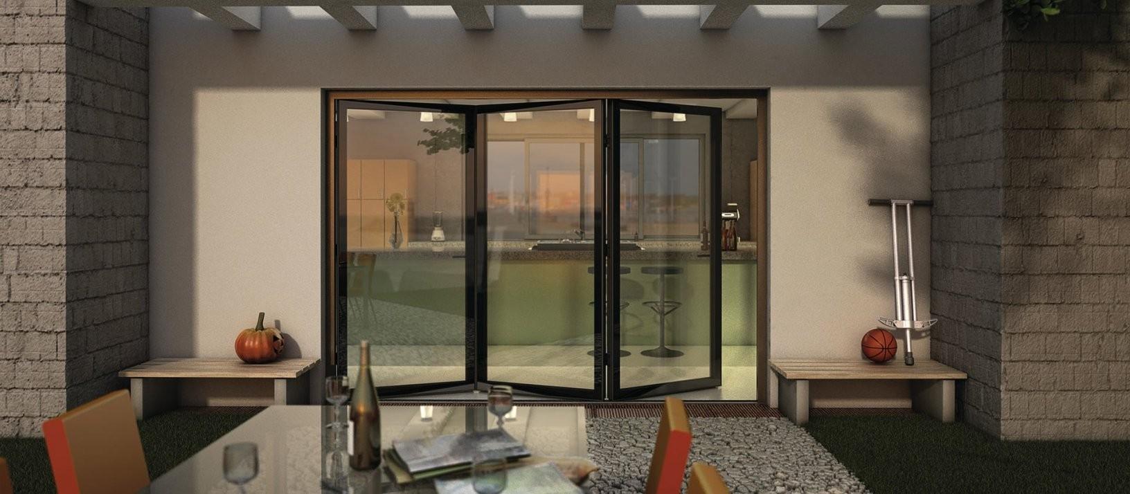 Falttüren  Finstral Ag von Terrassen Falttüren Selber Bauen Bild