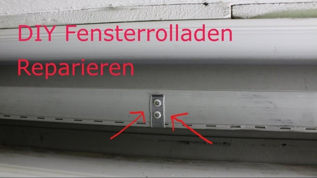 Fenster Rolladen (Jallousie) Reparieren  Youtube von Fenster Rollos Außen Reparieren Photo