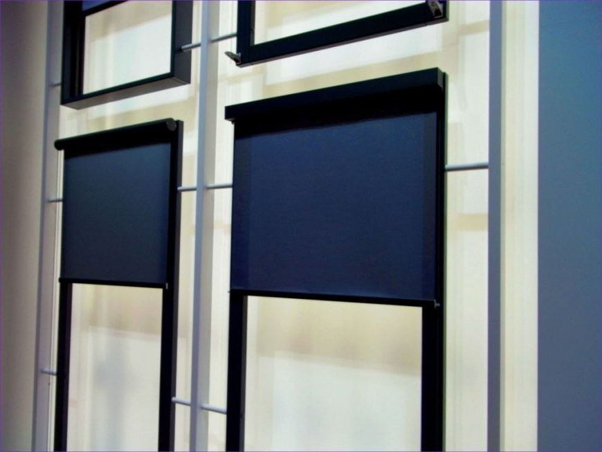 Fenster Rollos Außen Elektrisch  Fenster Mit Einbruchschutz von Fenster Rollos Außen Bild