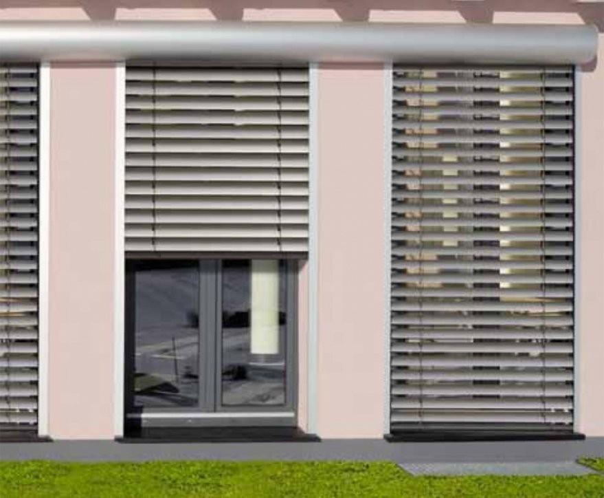 Fenster Rollos Für Außen  Haus Ideen von Fenster Rollos Außen Bild