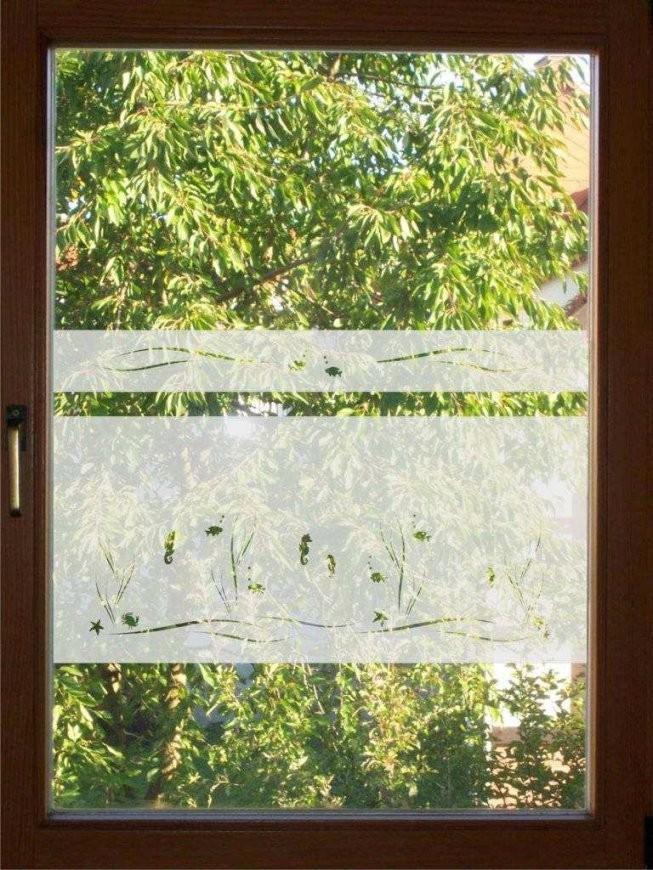 Fensterfolie Badezimmer Fensterfolie Glasdekor Badezimmer Fenster von Fensterfolie Sichtschutz Bad Bild