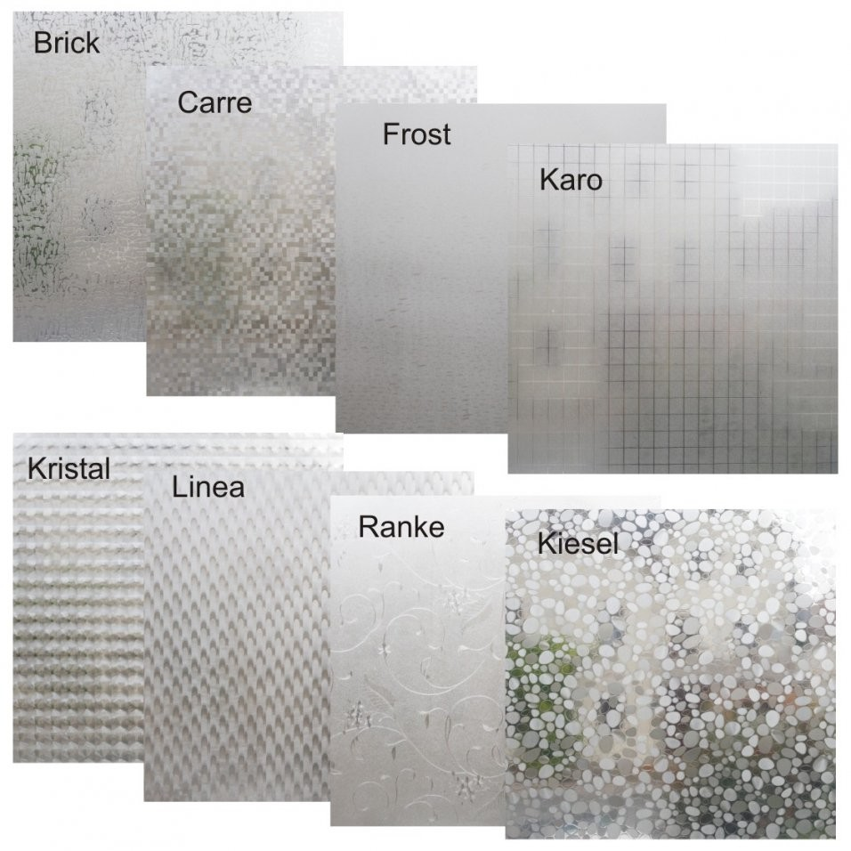 Fensterfolie Varianten 150X45Cm Sichtschutzfolie Statische Folie von Fensterfolie Sichtschutz Bad Photo