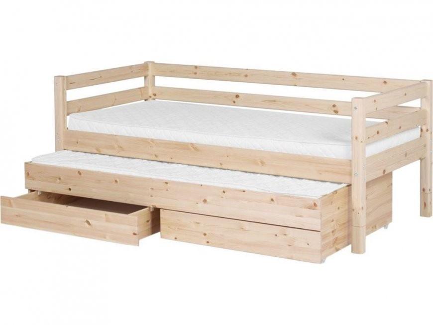 hoppekids deluxe ausziehbett g stebett 90x190cm wei 123moebel von bett mit g stebett und. Black Bedroom Furniture Sets. Home Design Ideas