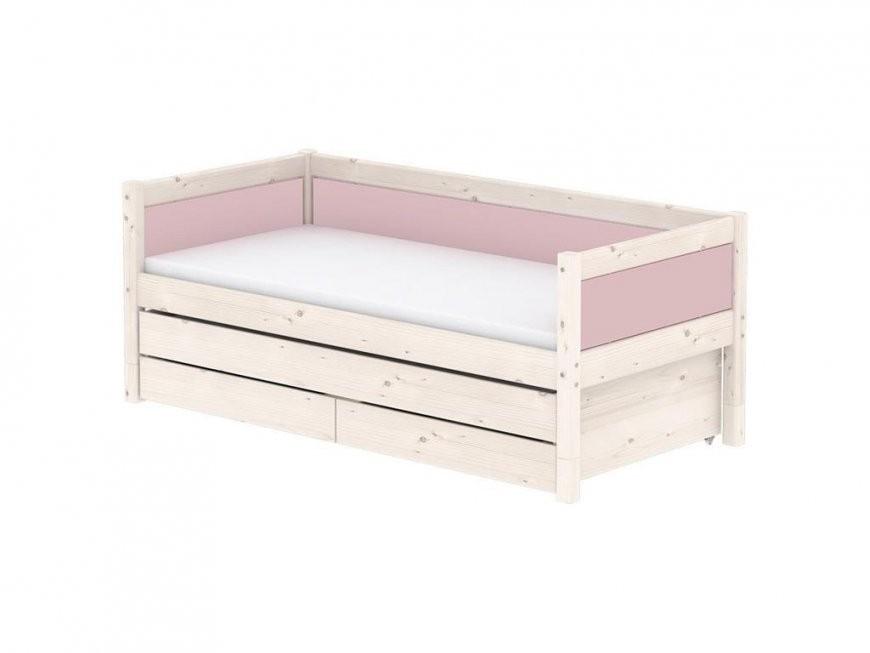 Flexa Harmony Bettliege Mit Gästebett 2 Schubladen Rückenleiste von Bett Mit Gästebett Und Schubladen Photo