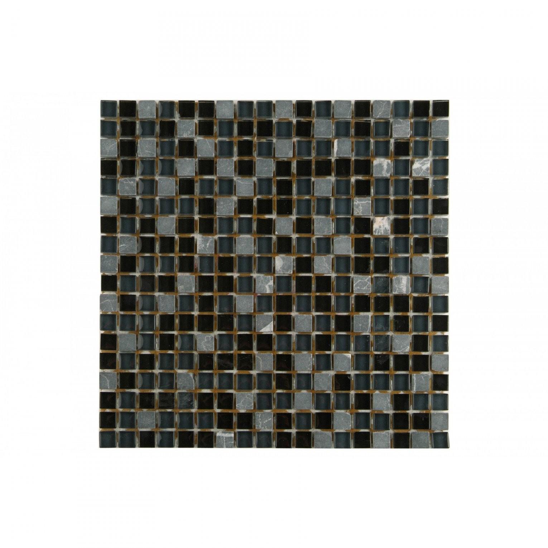 Fliesenwelt Mosaikfliesen Loox Tabriz Mix Schwarz 30X30Cm Jetzt von Mosaik Fliesen Günstig Photo