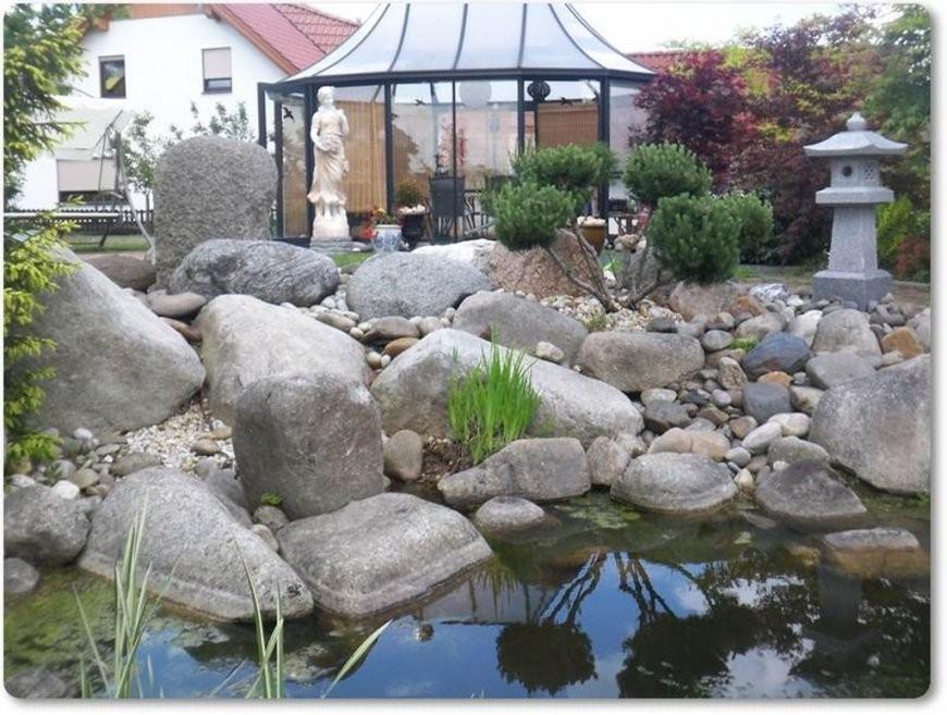 Flussfindlinge Große Runde Steine von Große Steine Für Den Garten Bild
