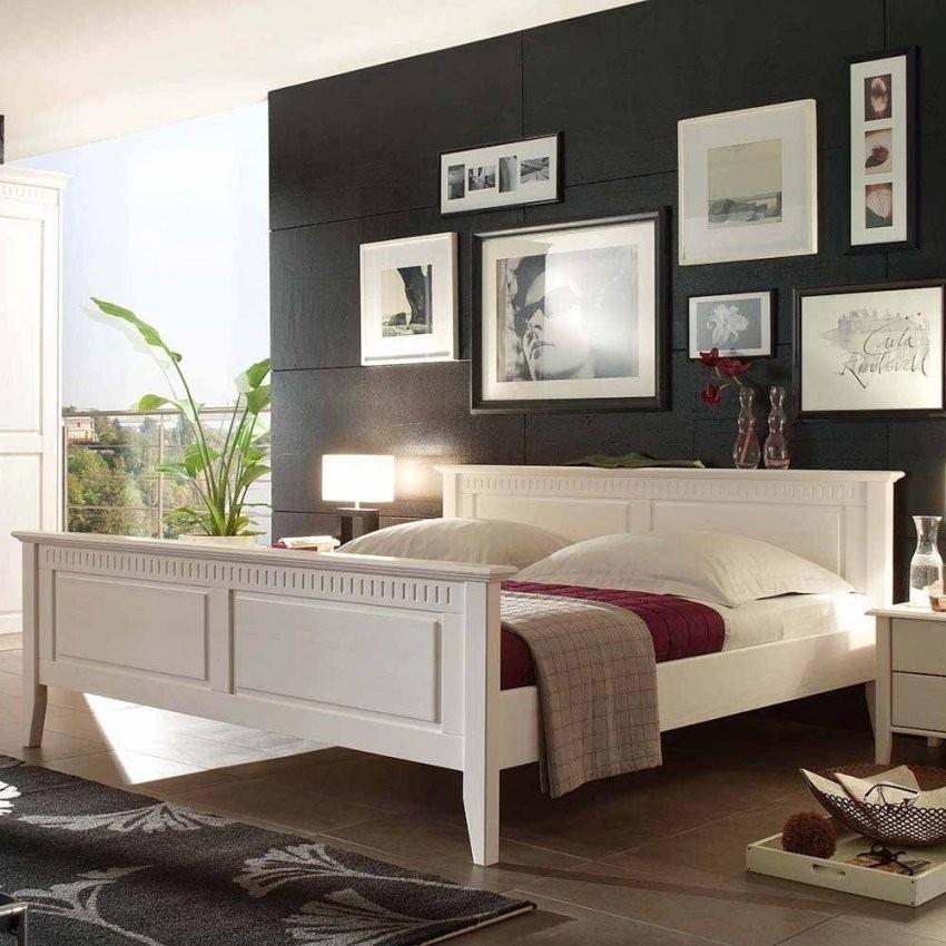 Formschöne Massivholzbetten Zu Günstigen Preisen  Wohnen von Bett Holz Weiß 180X200 Bild