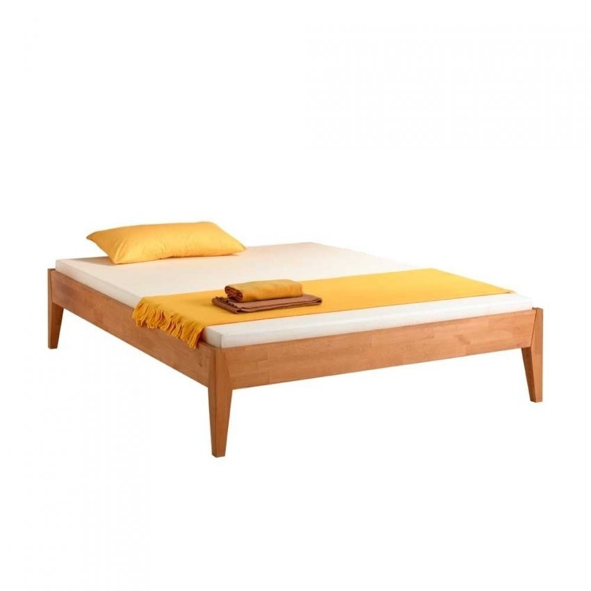 Formschöne Massivholzbetten Zu Günstigen Preisen  Wohnen von Bett Ohne Kopfteil 140X200 Photo