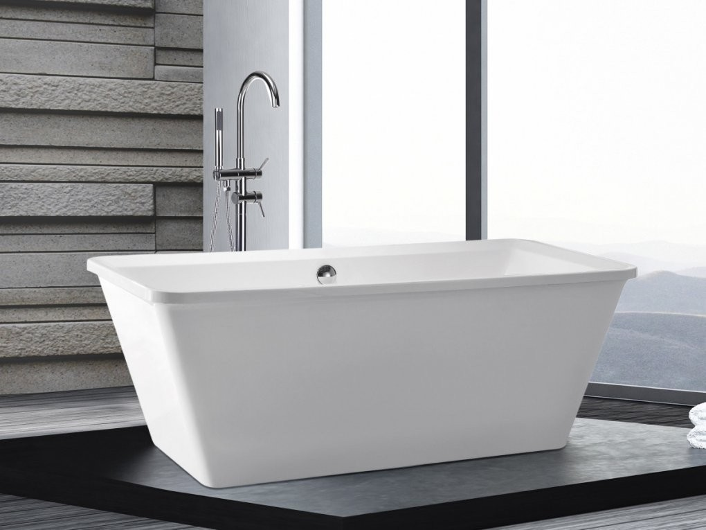 Freistehend Badewanne 170X79 Cm Günstig Freistehende Rechteckige von Badewanne Freistehend Preis Bild