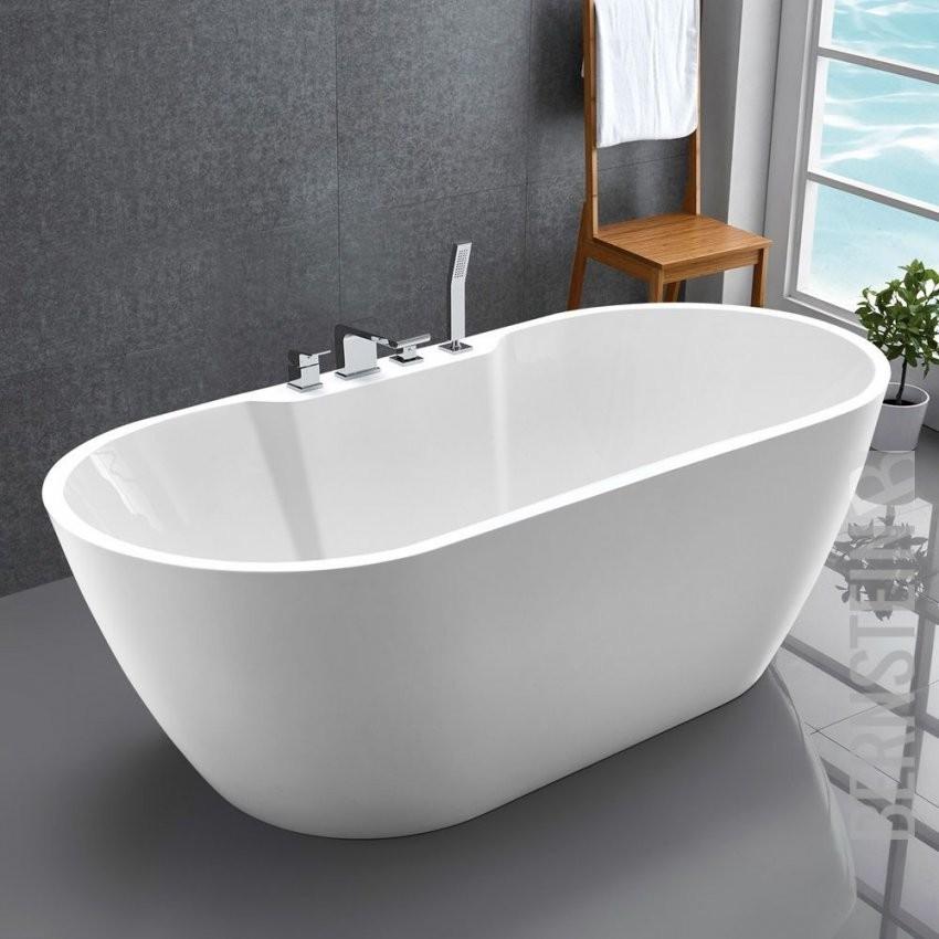 Freistehende Badewanne Acryl Jazz Plus Weiß  170X80Cm von Freistehende Badewanne Keramik Photo