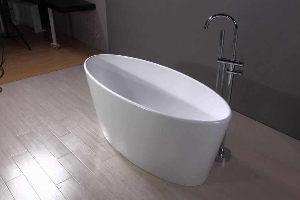 Freistehende Badewanne Albany  Badefieber von Kleine Freistehende Badewanne Bild