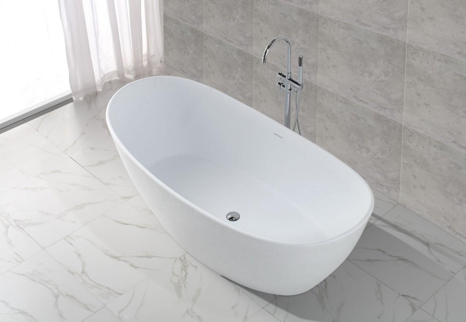 Freistehende Badewanne Canberra S  Badefieber von Ovale Freistehende Badewanne Bild